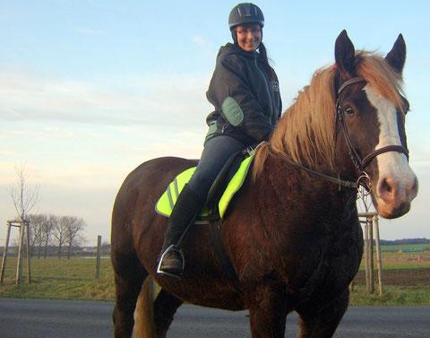 Rico-Beebie und ich im Dez. 2011