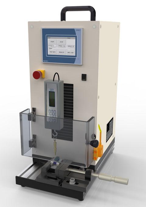 ISO 16409 7.5 Filament retention Büschelauszugskraft/Tuft Retention Test DIN EN ISO 20126 4.3 Joachim Wilhelm Engineering