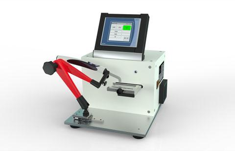 Dental Material automatische Positionierung zur Aushärtung ISO 4049 Joachim Wilhelm Engineering