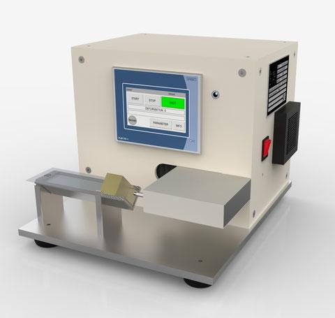 dental Material Extensiometer auto ISO 6873 Joachim Wilhelm Engineering