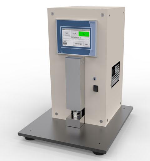 dental Material Elastic Recovery elastische Verformung  auto ISO 4823 Joachim Wilhelm Engineering