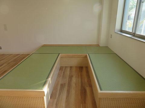 畳ベンチ 和紙畳