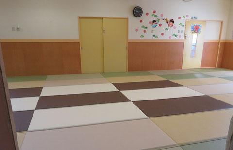 和紙畳 カラー畳