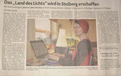 Stolberger Nachrichten, 25.02.2013