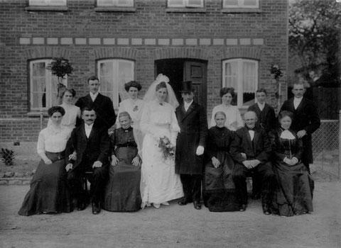 Hochzeit von Carl und Marie 1912