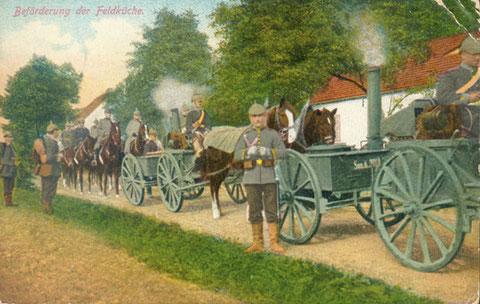 Feldküche vor 7.10.1914