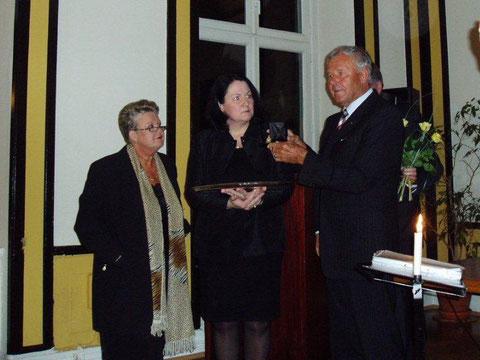 Frau Jepp, Frau Dr. Moser und Herr Meseck