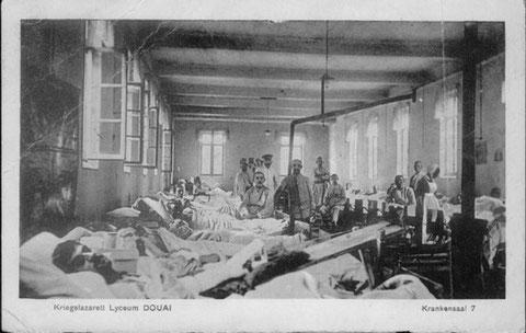 Lazarett Douai 12.7.1916