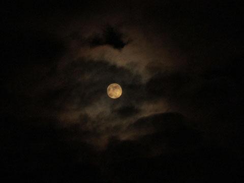 Symbol der Nacht - der Mond.