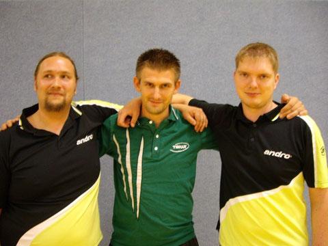 von links: Michael Vieth, Stefan Stritzke, Michael Klytta