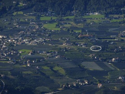 10 Minuten vom Ortszentrum von Dorf Tirol befindet sich die Garni Sonnleiten