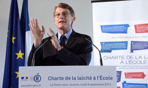 Vincent Peillon, Ministro de Educación en Francia.