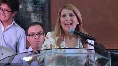 Margarita Arellanes Cervantes, alcaldesa de Monterrey, Nuevo Léon.