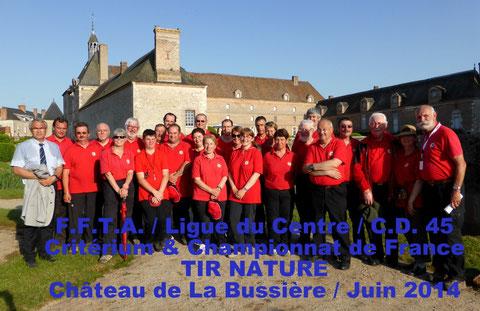 12 arbitres du Loiret au CF Nature 2014 à La Bussière.