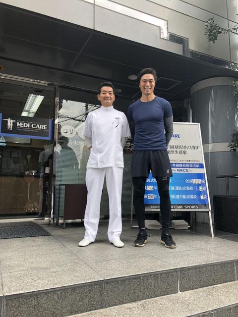 南理事長と北野貴之 撮影:2018年10月18日