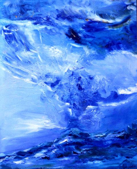 """""""Uriel""""  Ölbild 100 x 120 cm"""