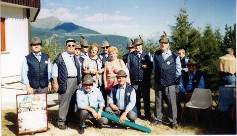 """2001 - 22 luglio - Torgnon - 30° di Fondazione """"Maria Nivis"""""""