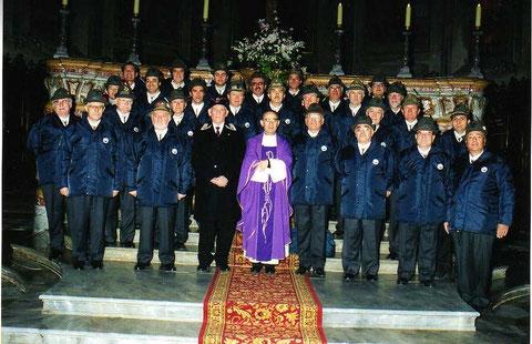 2001 - dicembre - Valenza - Festa Associazione Nazionale Carabinieri in congedo