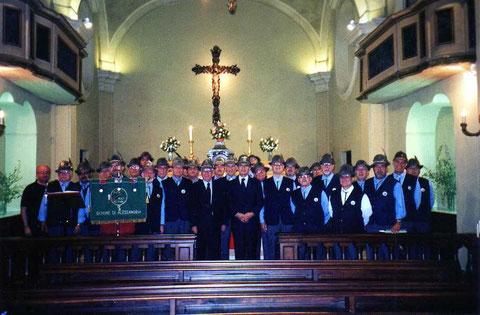 2001 - Alessandria - Con il Presidente nazionale Parazzini