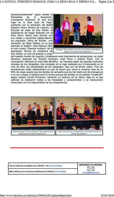 Novedades balletcharoalvarez jimdo page for Novedades del espectaculo