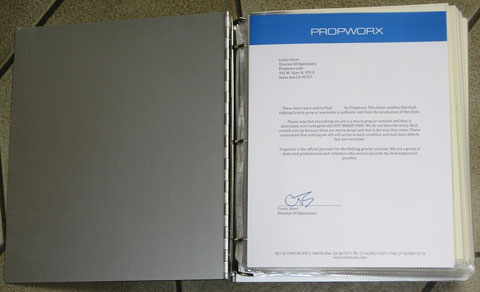 Non sold Stuff : Accreditation Letter from Propworx
