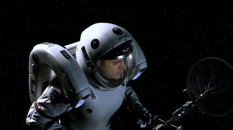 Maddux Donner in Space Suit with MMU : Episode #4 H2IK