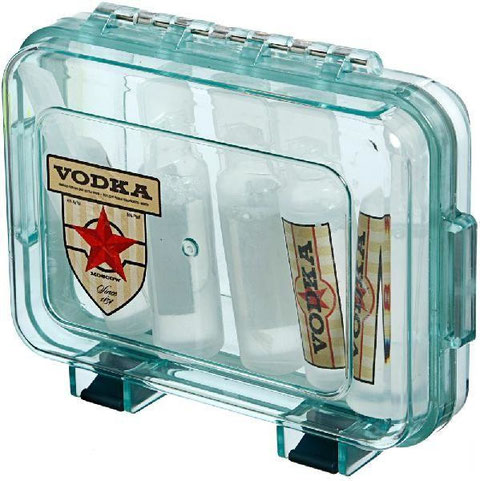 Vodka Container & Mini Bottles