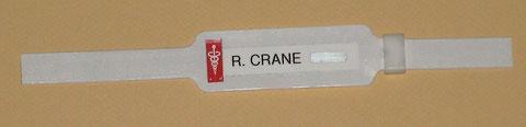 Hospital Name Tag