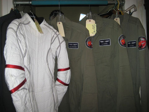 The Production Made Space Suit + 3 Antares Flight Suits won in March