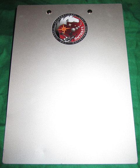 Antares Mission Aluminum Clip Binder