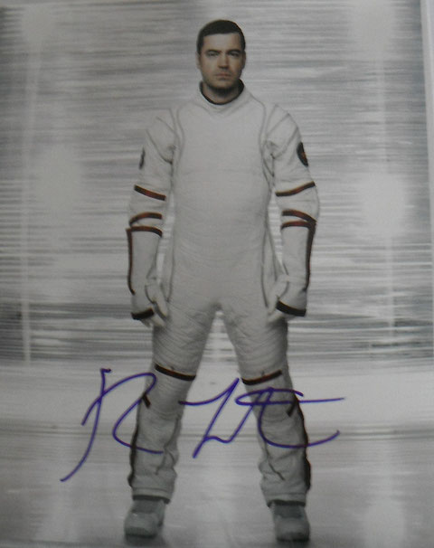ron livingtson signed space suit defying gravity