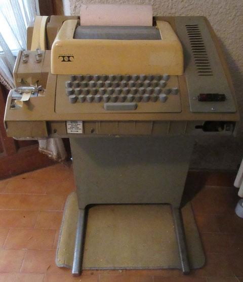 vintage computer teletype