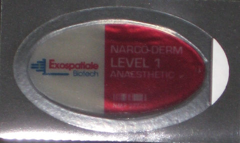 Narco-Derm Level 1 Anaesthetic Patch