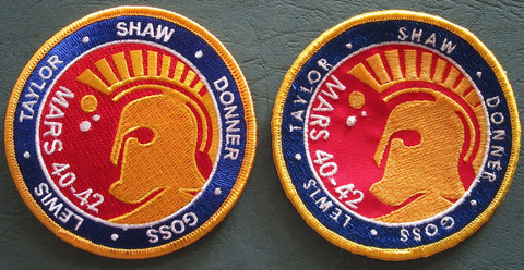 Mars Mission : Repro patch / Production Made  patch