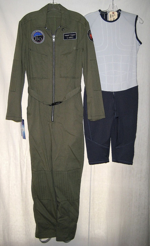 Evram Mintz Antares Green Flight Suit + Gravity Suit