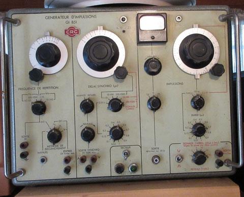 générateur d'impulsions CRC pulse generator GI 851