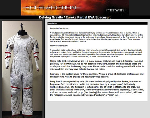 Then on Propworx Ebay auction 2014 : January 12-19. Listing removed January, 16