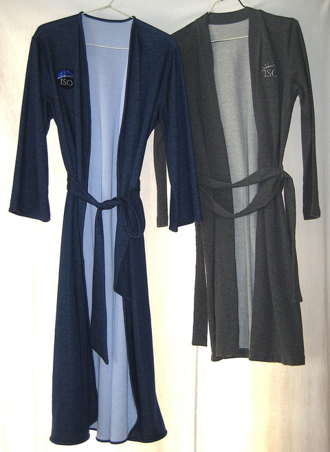 Blue & Grey Robes