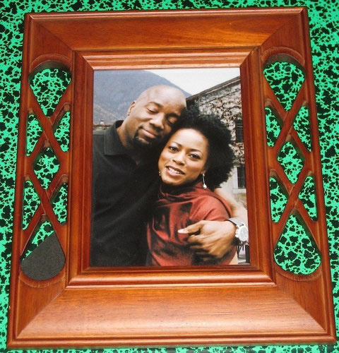 Ted & Eve Framed Photo