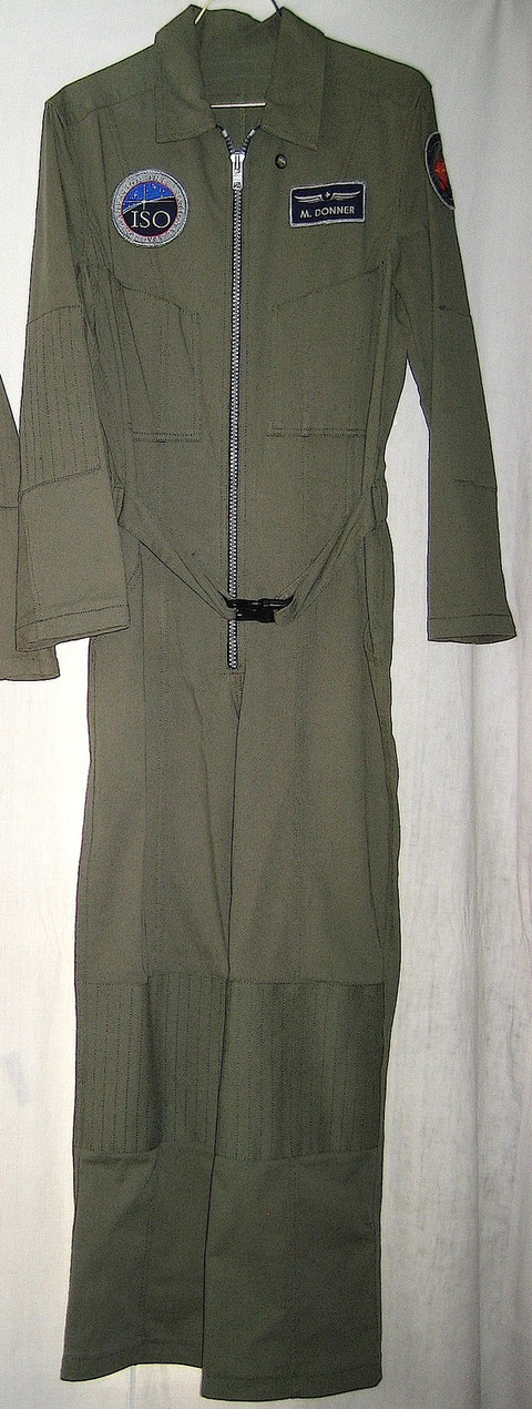Maddux Donner Antares Green Flight Suit
