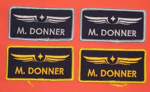 Screen Used & Prototypes Green Flight Suit Patches