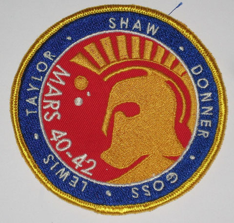 Mars Mission Badge