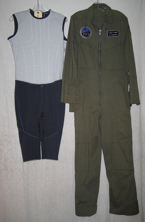 Maddux Donner Antares Green Flight Suit + Gravity Suit