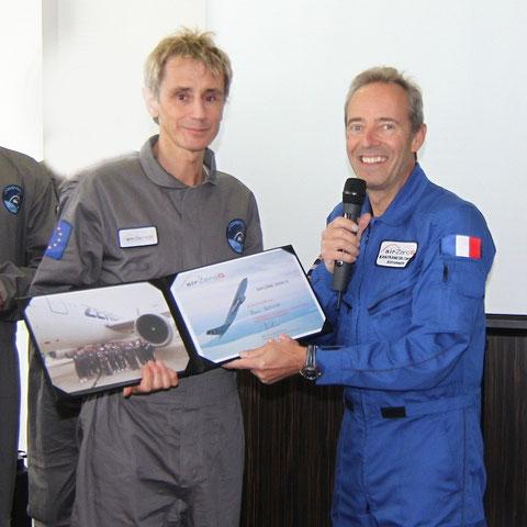 With Jean-François Clervoy : Astronaut