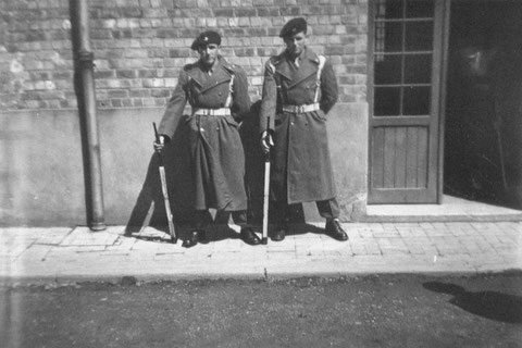 Vielsalm 1952 : Vilz Edmund - Küpper Oswald Wache