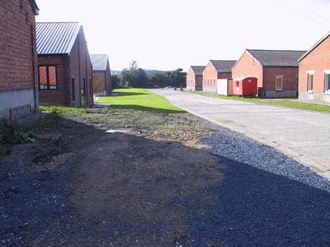 Kurz nach Schliessung der Kaserne