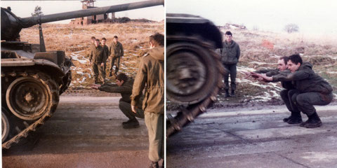 Die Angst vorm Panzer verlieren