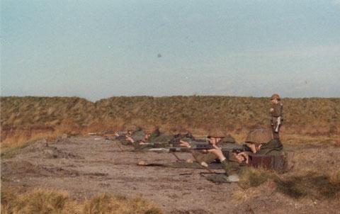 Herbst 1980 : FAL Schiessen in Burg-Leopold