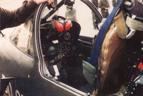 Bierset. Besuch bei den Mirage Kampfjets.