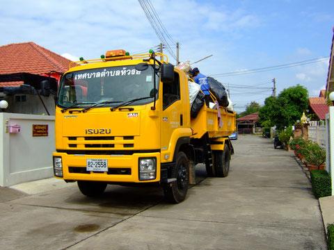 Neuer Mülltransporter